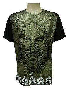 Camiseta Manga Curta - Cristo