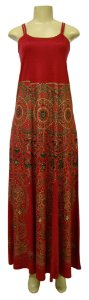 Vestido Longo Dupla Alça - Jasmim