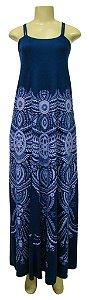 Vestido Longo Dupla Alça - Yuca