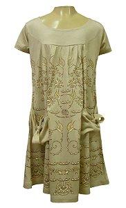 Vestido Bolsinho - Colibris