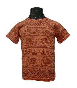 Camiseta Infantil - Tradicional Elefante