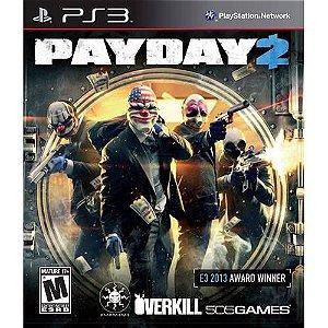 Jogo Playstation 3 - PAYDAY 2