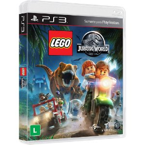 Jogo Playstation 3 - LEGO Jurassic World