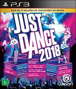 Jogo Playstation 3 - Just Dance 2018