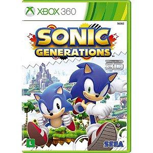 Jogo Xbox 360 - Sonic Generations