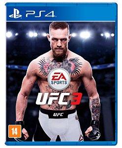 Jogo Playstation 4 - UFC 3