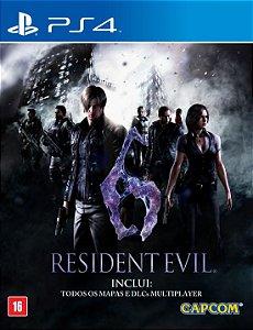 Jogo Playstation 4 - Resident Evil 6