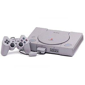 Console Playstation One Classic com 20 Jogos