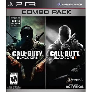Jogo Call Of Duty Combo Pack - Ps3