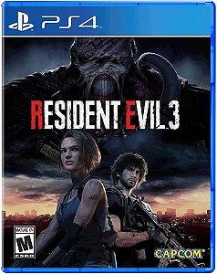 Resident Evil 3 - (Pré-Venda) - Ps4