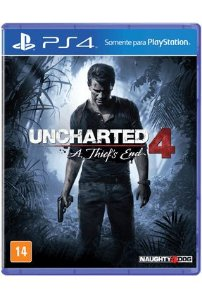 Uncharted 4: A Thief's End - PS4 (SemiNovo)