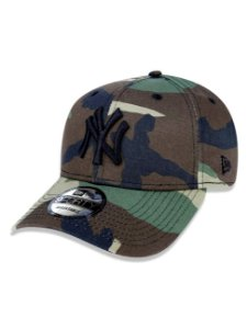 Boné New Era 940 Woodland Camo New York Yankees MLB