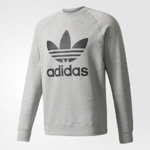 Moletom Adidas Crew Fleece Trefoil