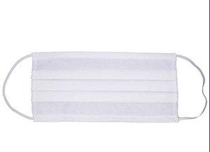KIT COM 100 - Máscara Dupla Descartável para filtração bacteriana