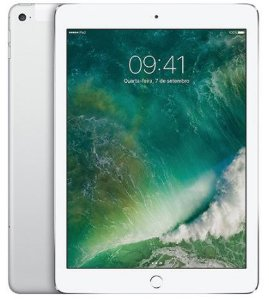 "iPad New, Tela Retina 9.7"", 32GB, Silver, 4G"