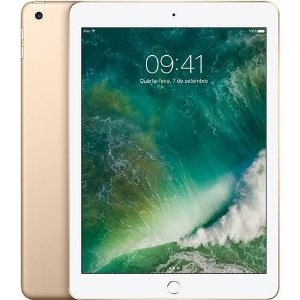 "iPad New, Tela Retina 9.7"", 32GB, Gold, 4G"