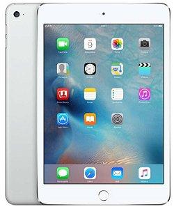 """iPad Mini 4, Tela  9.7"""", 128GB, Silver, Wifi"""