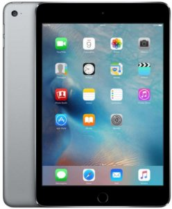 "iPad Mini 4, Tela  9.7"", 128GB, Space gray, 4G"