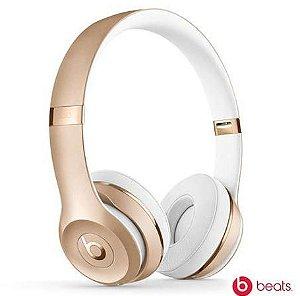 Fone de Ouvido Headphone Beats Solo 3 Dourado - Apple
