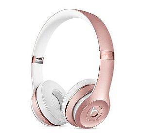 Fone de Ouvido Headphone Beats Solo 3 Rose - Apple