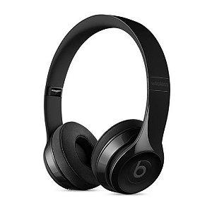 Fone de Ouvido Headphone Beats Solo 3 Preto Brilhante - Apple