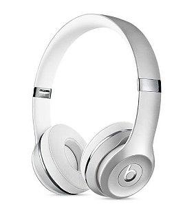 Fone de Ouvido Headphone Beats Solo 3 Prata - Apple