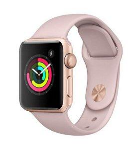 Apple Watch Series 3 GPS Gold, 42mm, Alum, Pulseira Esportiva Pink