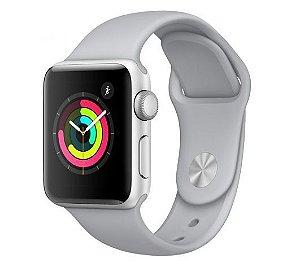 Apple Watch Series 3 GPS Silver, 42mm, Alum, Pulseira Esportiva Cinza
