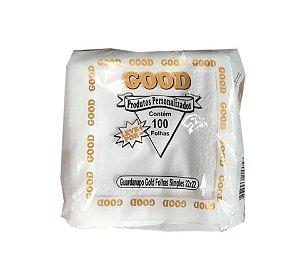 Guardanapo Luxo 22x22 Good Ouro folha simples - 100 unidades