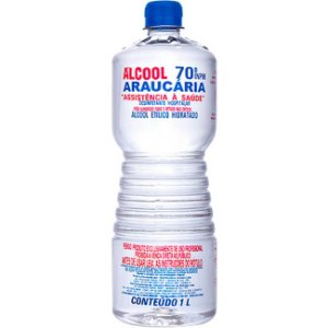 Álcool Líquido 70º 1Litro