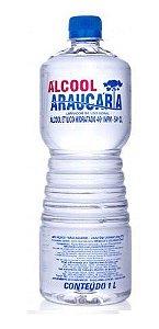 Alcool liquido 46 % para  Limpeza 1 lt
