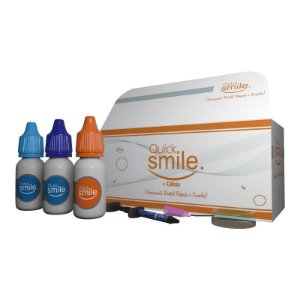 Kit Gel Clareador para LED AZUL (Ativador Laranja :: 03 Pacientes) - QUICK SMILE