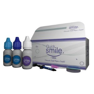 Kit Gel Clareador para LED VIOLETA (Ativador Transparente :: 03 Pacientes) - QUICK SMILE