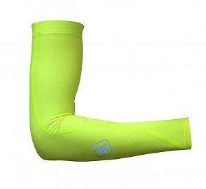 Manguito Ciclismo Free Force Twist Amarelo Fluor
