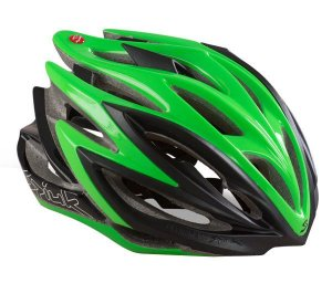 Capacete Para Ciclismo Spiuk Dharma Preto e Verde - Mountain Bike ou Speed
