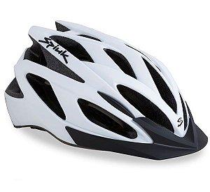 Capacete Para Ciclismo Spiuk Tamera Branco - Mountain Bike Ou Speed