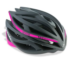 Capacete Para Ciclismo Spiuk Nexion Preto Com Rosa - Mountain Bike ou Speed