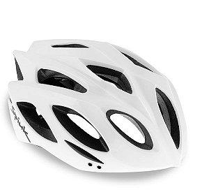 Capacete Para Ciclismo Spiuk Rhombus Branco - Mountain Bike e Speed