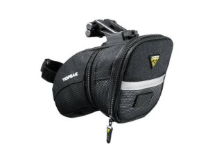 Bolsa De Selim Topeak Aero Wedge Pack Com Q-Click M - Bolsa bikepacking 0,41 Litros TC2252B