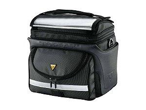 Bolsa De Guidao Topeak Tourguide Handlebar Bag Dx - Bolsa Bikepacking 7,7 Litros TT3022B