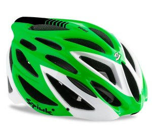 Capacete Para Ciclismo Spiuk Zirion Verde Com Branco - Mountain Bike e Speed