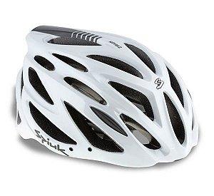 Capacete Para Ciclismo Spiuk Zirion Azul Com Branco - Mountain Bike e Speed