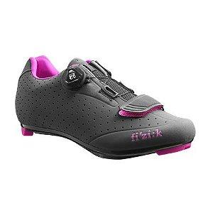 Sapatilha Para Ciclismo Fizik R5 Preto/Rosa  SPEED - Ciclismo de Estrada