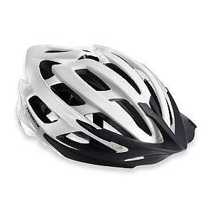 Capacete Para Ciclismo Arbok Escalera Branco Brilhante - Mountain Bike ou Speed