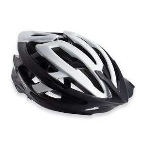 Capacete Para Ciclismo Arbok Escalera Preto/Branco - Mountain Bike ou Speed