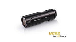 Lanterna Fenix UC02 - Black - 130 Lumens