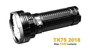 Lanterna Fenix TK75 2018 - Alcance de 850m - 5100 Lumens