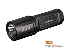 Lanterna Fenix TK35 Preta 1300 Lumens