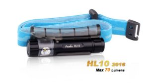 Lanterna Fenix - HL10 Preta - 70 Lúmens