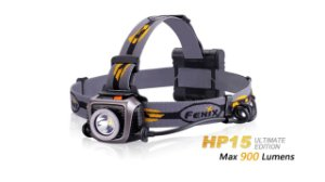 Lanterna Fenix HP15UE Preta - 900 Lúmens